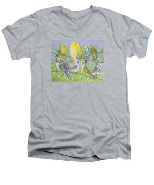 Sweet Talking Men's V-Neck T-Shirt by Pat Scott
