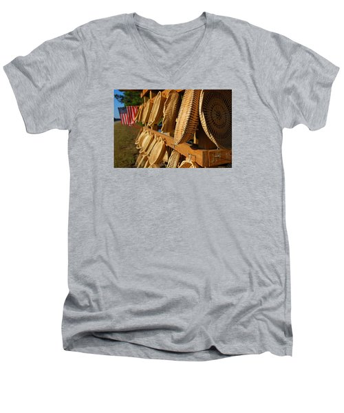 Sweetgrass Baskets Men's V-Neck T-Shirt