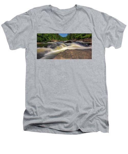 Sweetwater Creek Long Exposure 2 Men's V-Neck T-Shirt