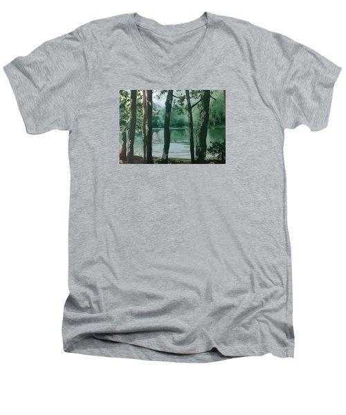 Swimming Hole Men's V-Neck T-Shirt