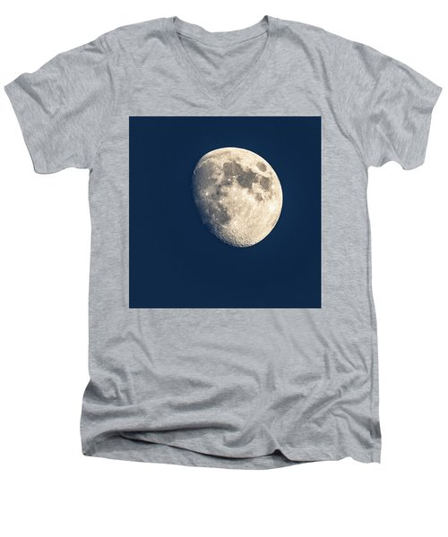 Swimming In The Deep Blue  Men's V-Neck T-Shirt