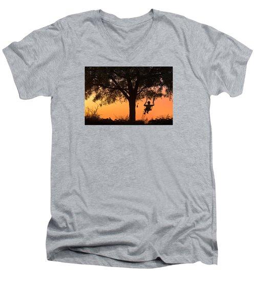 Swing Men's V-Neck T-Shirt