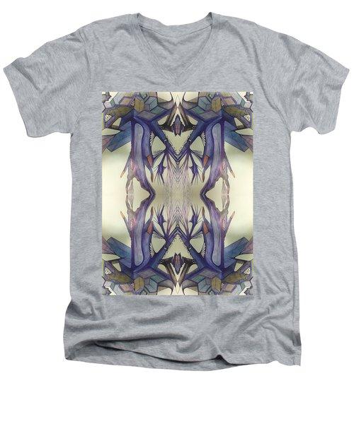 Vortex Of Emotions Men's V-Neck T-Shirt