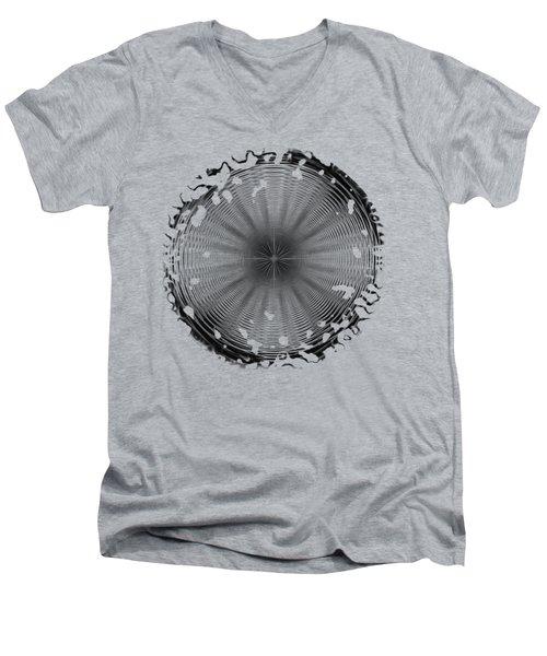 Swirly 2 Men's V-Neck T-Shirt