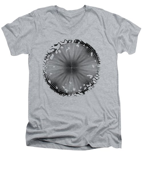 Swirly 2 Men's V-Neck T-Shirt
