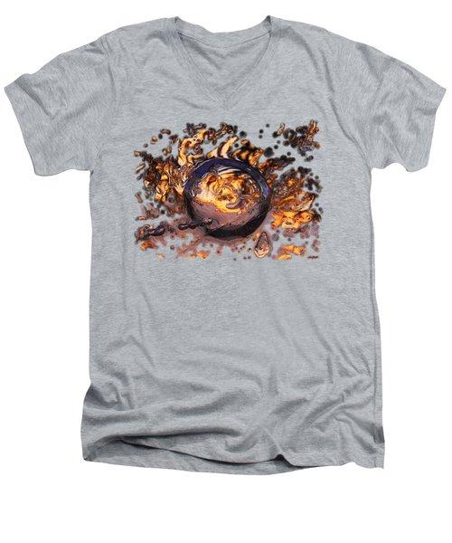 Swirly Gateway Men's V-Neck T-Shirt