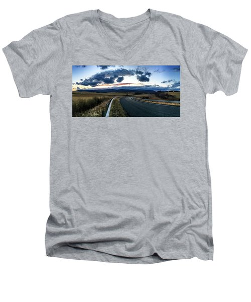 Swoope Virginia Men's V-Neck T-Shirt