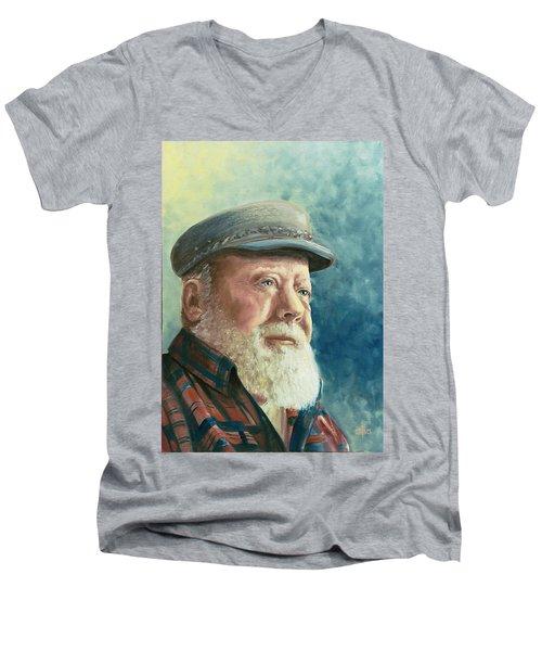 Syd Wright 1927-1999 Men's V-Neck T-Shirt