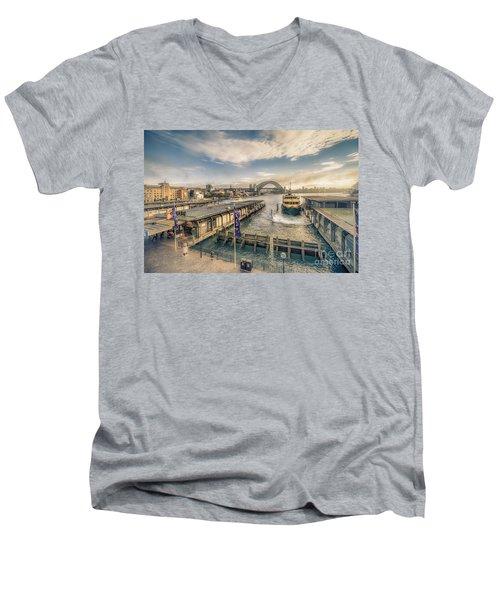 Sydney Harbor I Men's V-Neck T-Shirt