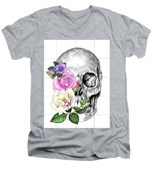 Symbol Of Change Men's V-Neck T-Shirt