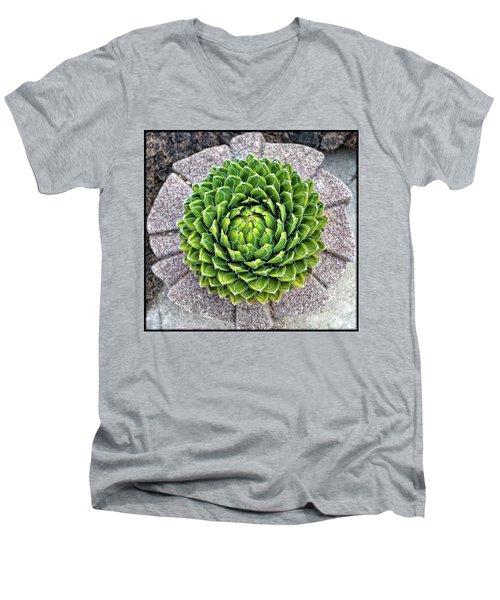 Symmetry Men's V-Neck T-Shirt