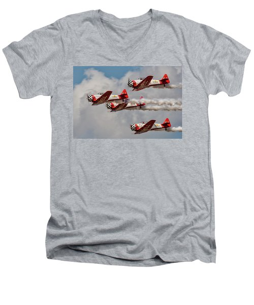 T-6 Texan Men's V-Neck T-Shirt