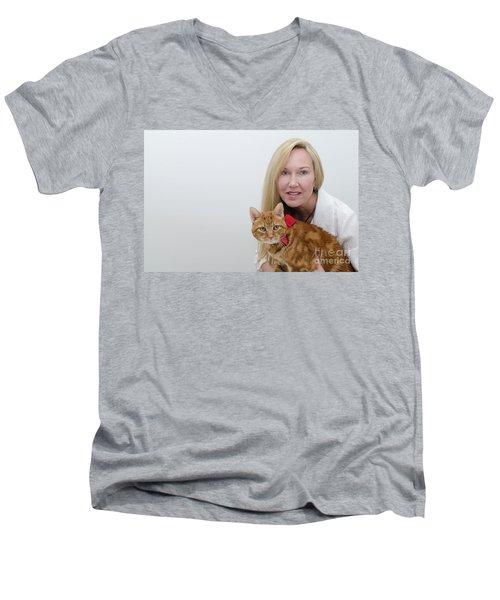 Tabasco And Molly 1 Men's V-Neck T-Shirt