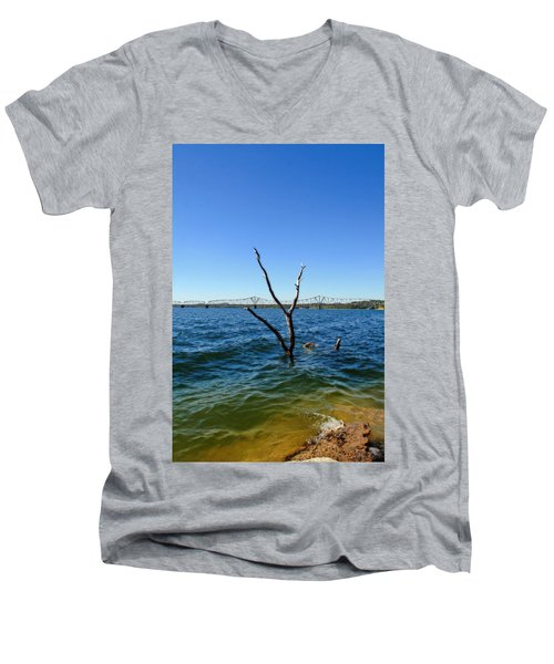 Table Rock Lake Kimberling City Men's V-Neck T-Shirt