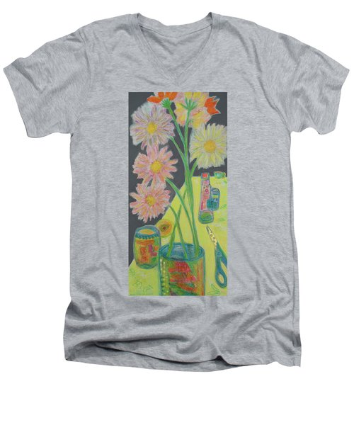 Table Scape Men's V-Neck T-Shirt