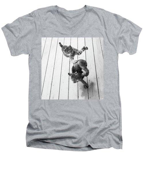 Tag Youre It Men's V-Neck T-Shirt