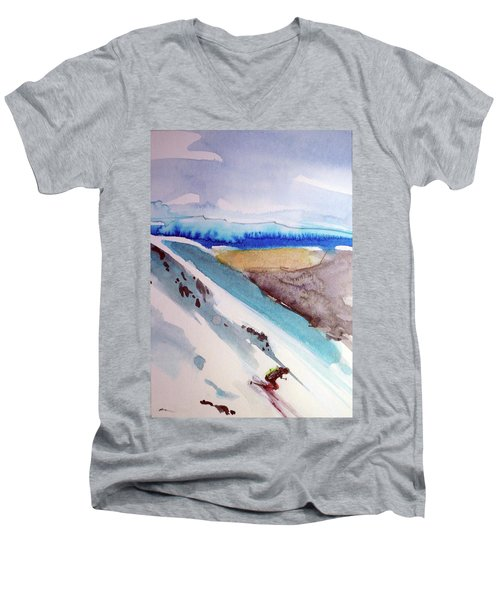 Tahoe City Men's V-Neck T-Shirt