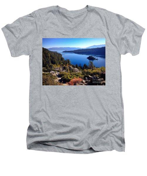 Tahoe Men's V-Neck T-Shirt