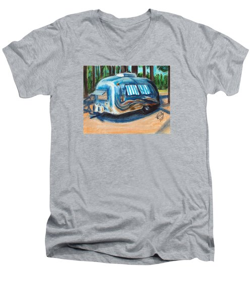 Tahoe Stream Men's V-Neck T-Shirt