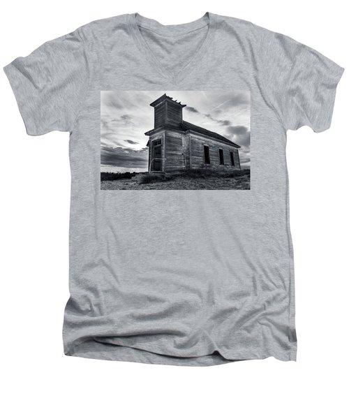 Taiban Presbyterian Church, New Mexico Men's V-Neck T-Shirt