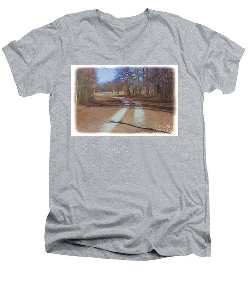 Take Me Home Country Road Men's V-Neck T-Shirt