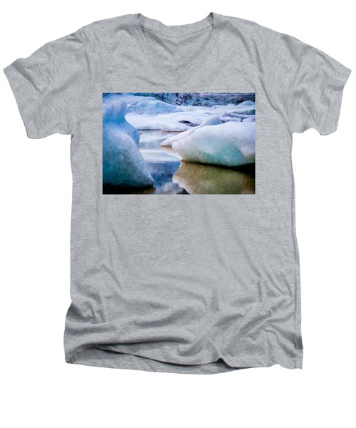 Take The Space Between Us And Fill It Up Some Way Men's V-Neck T-Shirt