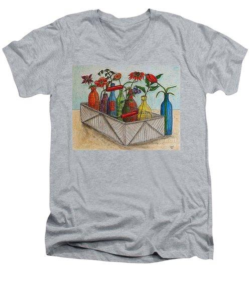 Take Your Pick Men's V-Neck T-Shirt