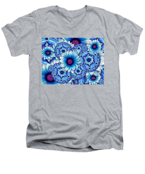Talavera Alejandra Men's V-Neck T-Shirt by Christopher Beikmann
