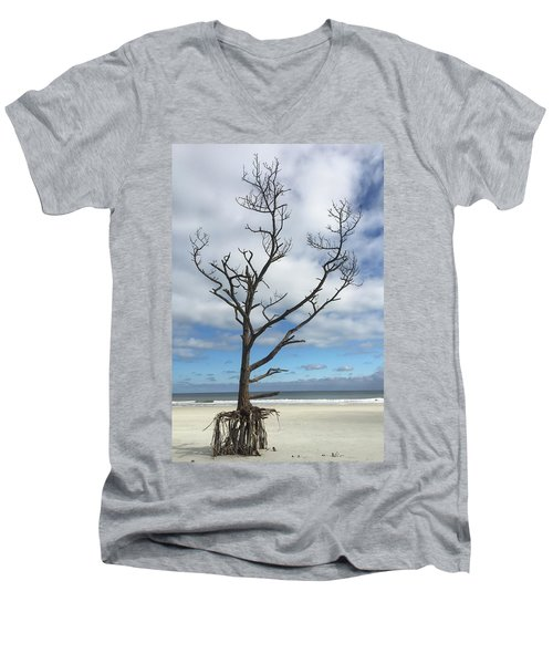 Talbot Stilt Tree #1 Men's V-Neck T-Shirt