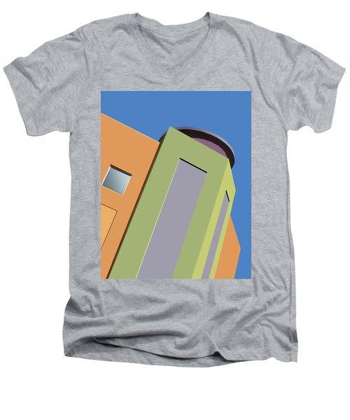 Talin Tilt Men's V-Neck T-Shirt by Nikolyn McDonald