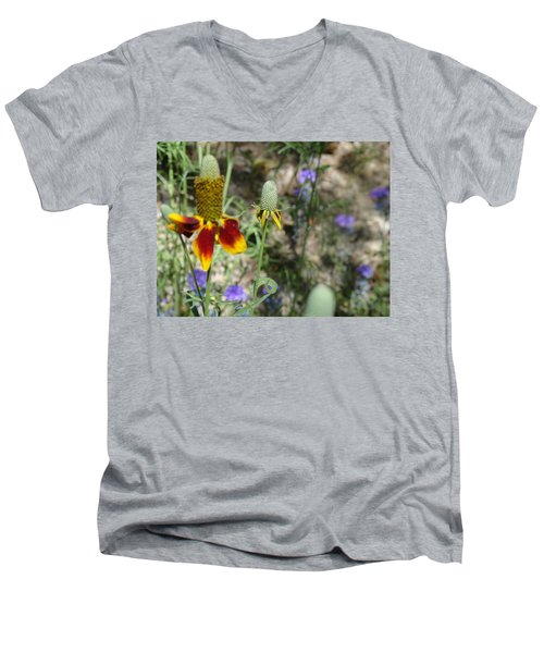 Tall And Proud Penis Cactus Men's V-Neck T-Shirt