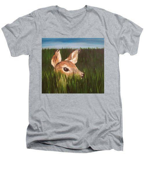 Tall Grass    #63 Men's V-Neck T-Shirt