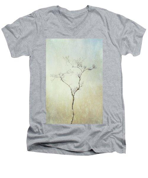 Tall Tree Men's V-Neck T-Shirt