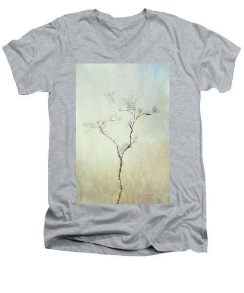 Tall Tree Men's V-Neck T-Shirt