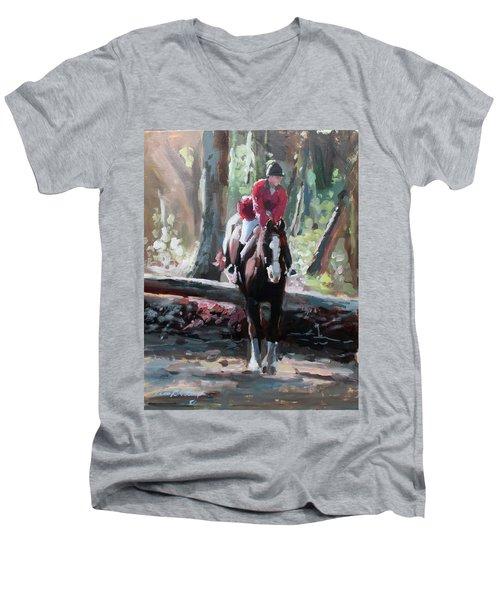 Tally Ho Men's V-Neck T-Shirt