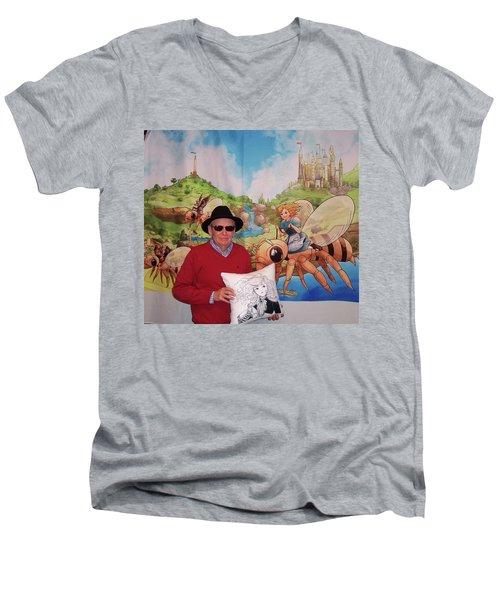 Tammy And Reynold Jay Men's V-Neck T-Shirt