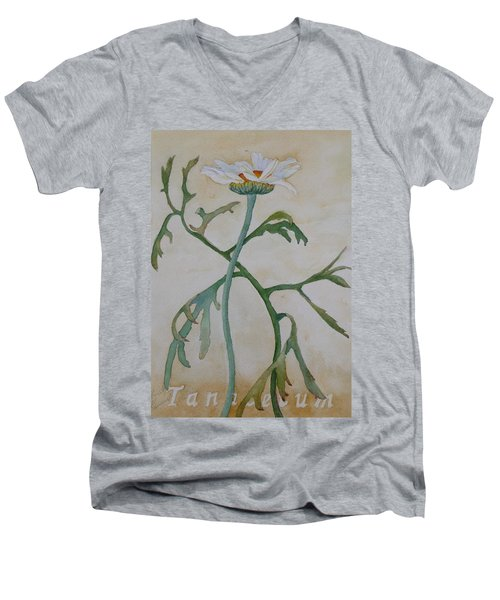 Tanacetum Men's V-Neck T-Shirt