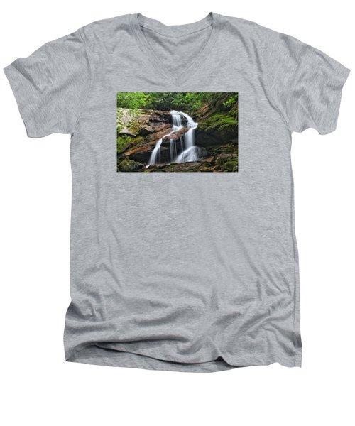 Upper Dill Falls Men's V-Neck T-Shirt