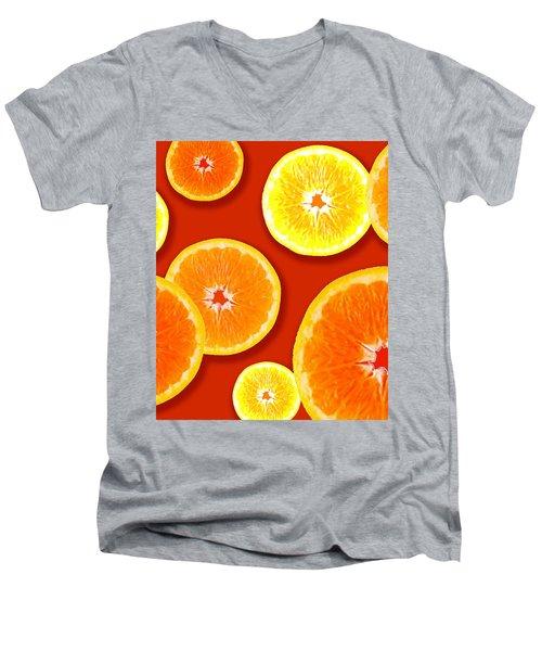 Tangerine Tango Men's V-Neck T-Shirt