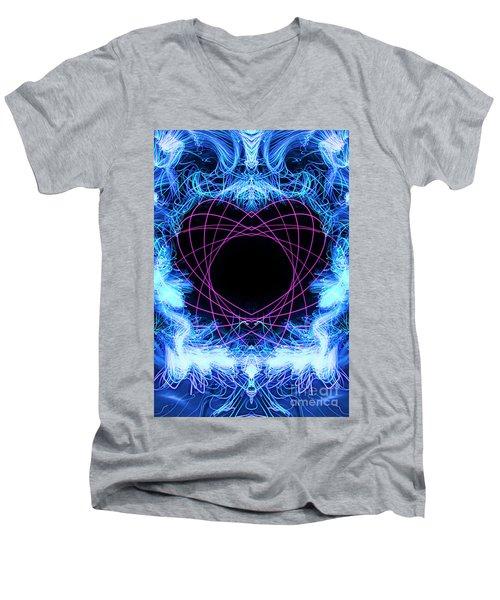 Tangled Heart Men's V-Neck T-Shirt