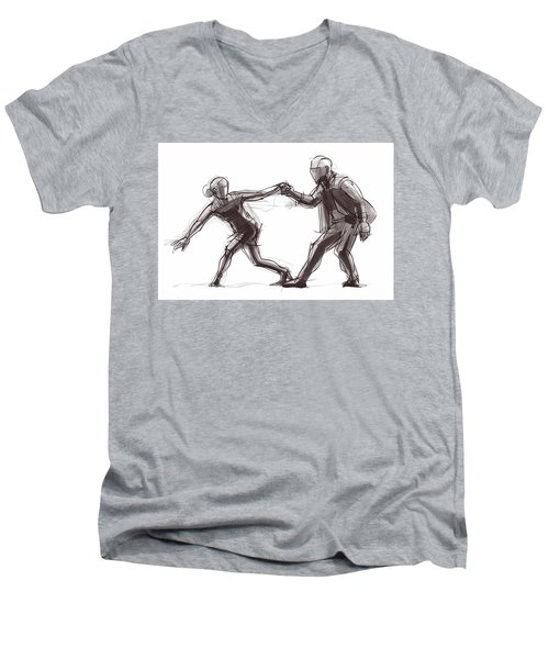 Tango #63 Men's V-Neck T-Shirt