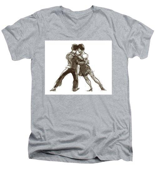 Tango Triangle Men's V-Neck T-Shirt