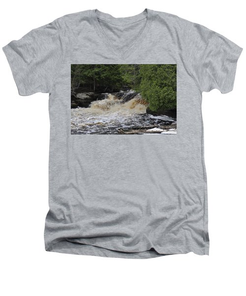 Tannic Waters Men's V-Neck T-Shirt