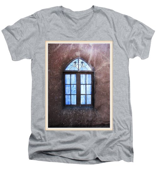 Taos, There's Something In The Light 4 Men's V-Neck T-Shirt