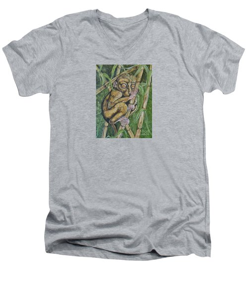 Tarsier Men's V-Neck T-Shirt