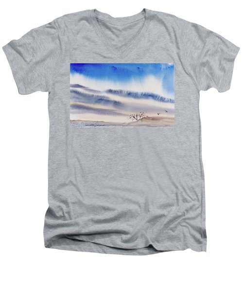 Tasmanian Skies Never Cease To Amaze And Delight. Men's V-Neck T-Shirt