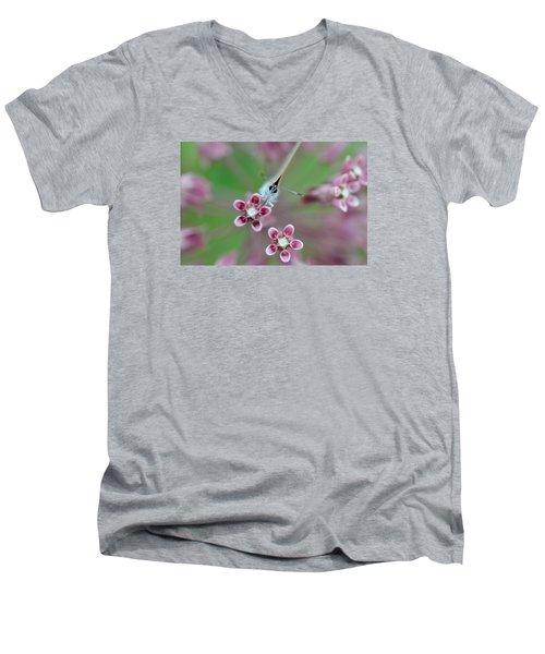 Taste Men's V-Neck T-Shirt by Janet Rockburn