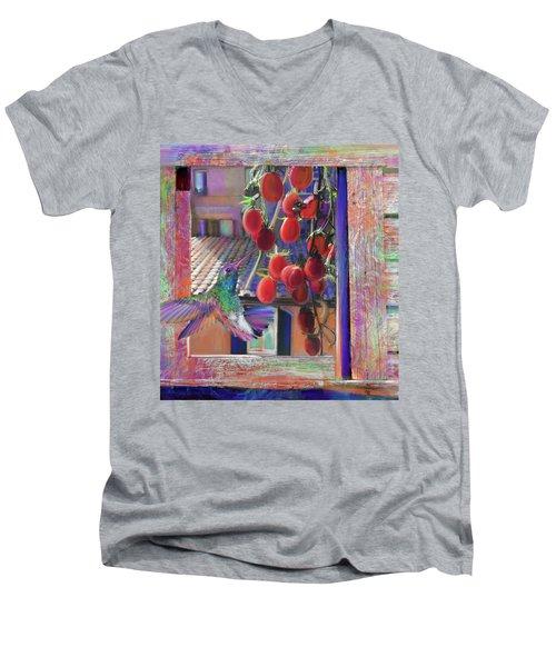 Taste Of Italy  Men's V-Neck T-Shirt by Julianne Ososke