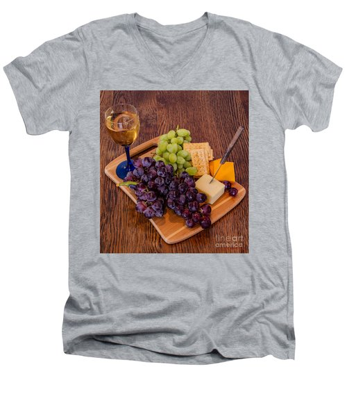 Taste Of The Grape Men's V-Neck T-Shirt