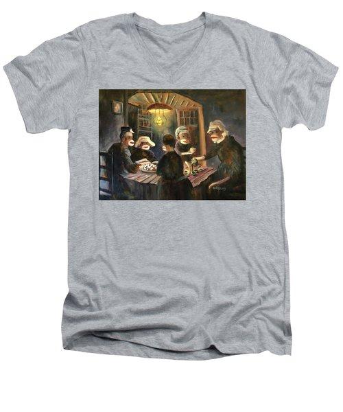 Tater Eaters Men's V-Neck T-Shirt